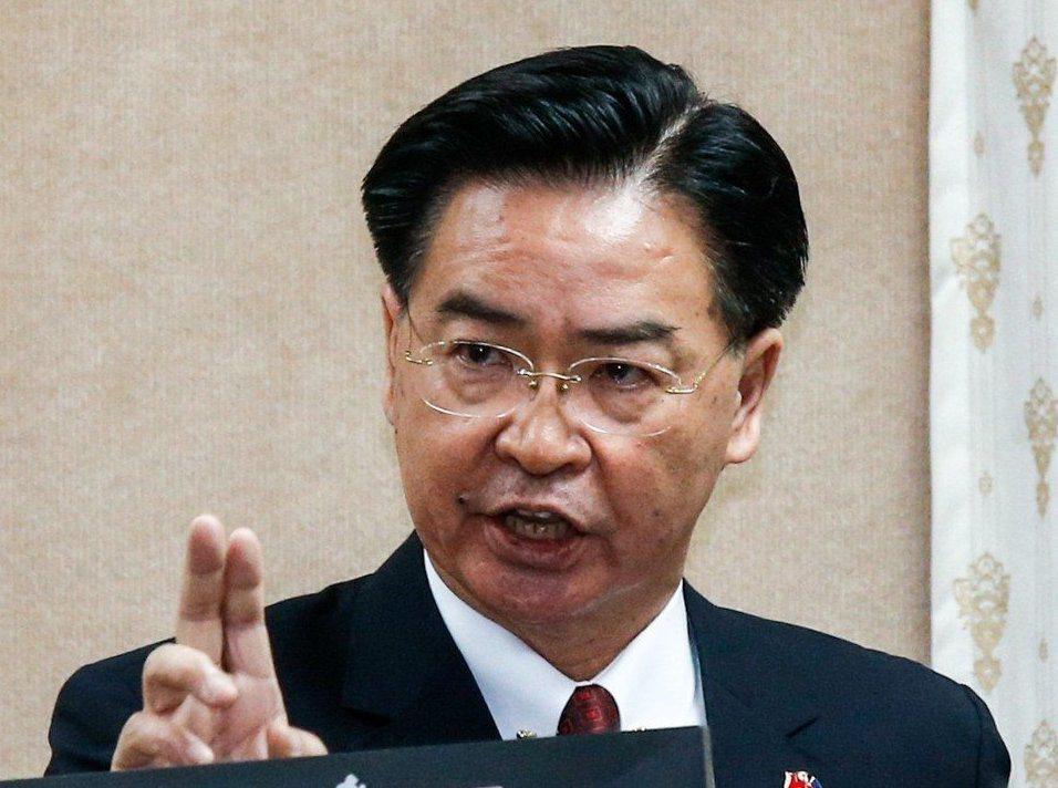 人民日報海外版發文痛批外交部長吳釗燮。 圖/聯合報系資料照片