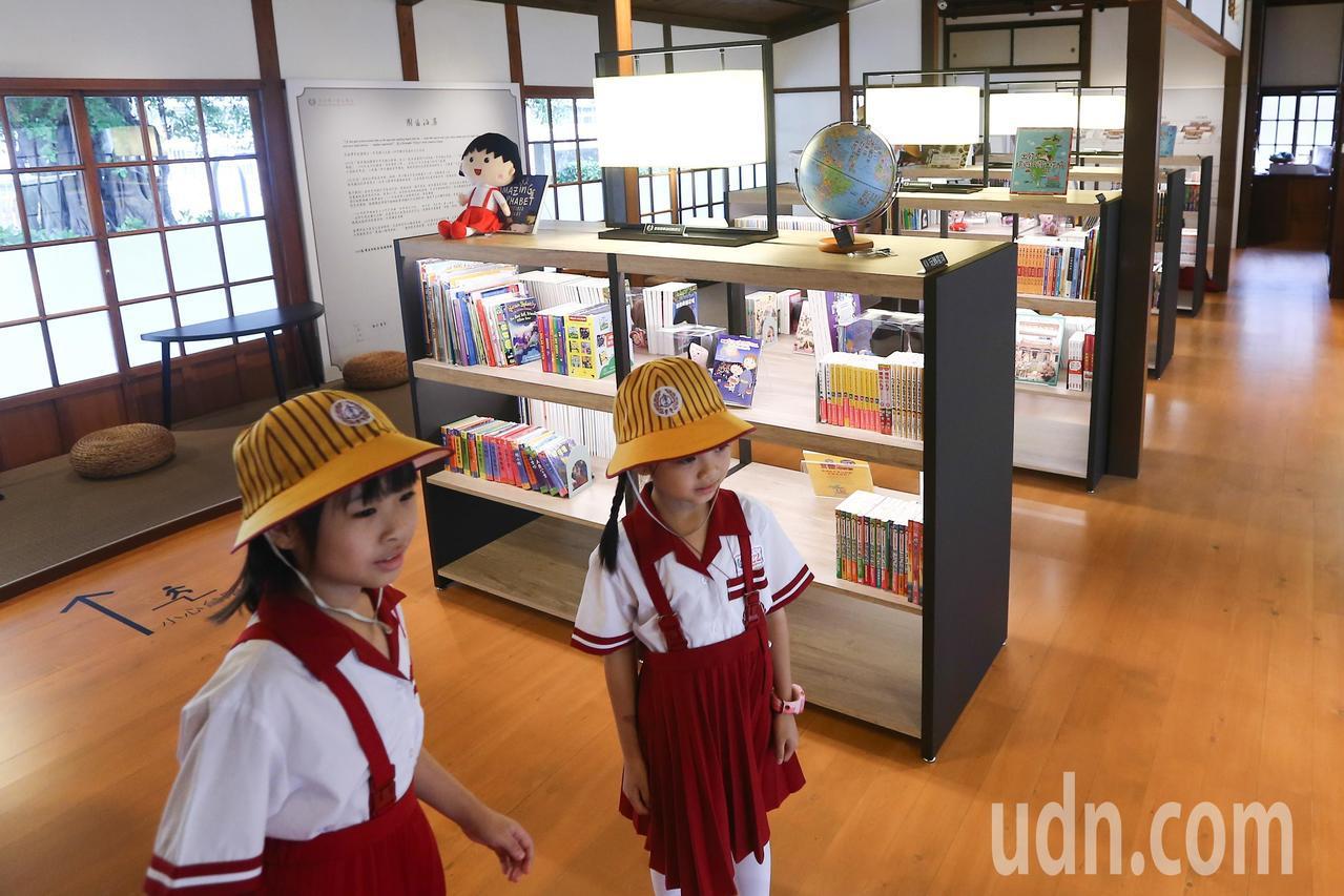 擁有日式宿舍群的台中巿清水國小是全台第一座古蹟小學,利用歷史建築活化的「藝文園區...