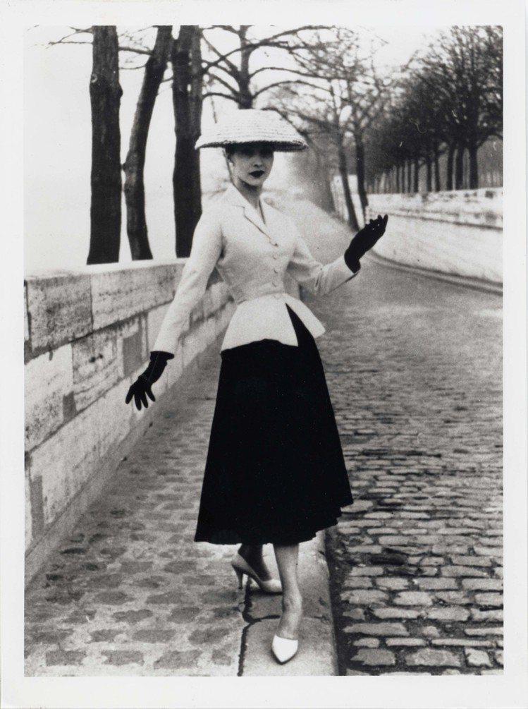 1947年誕生的New Look,經典不敗。圖/DIOR提供