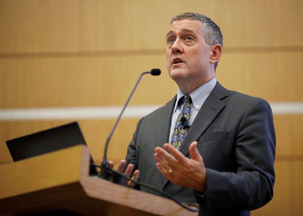 聖路易斯聯邦準備銀行行長布拉德(James Bullard)。  路透
