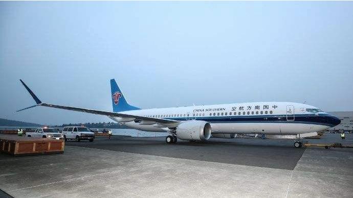 南航、國航也分別向波音提出賠償要求。圖為南方航空客機。(中國民航網)