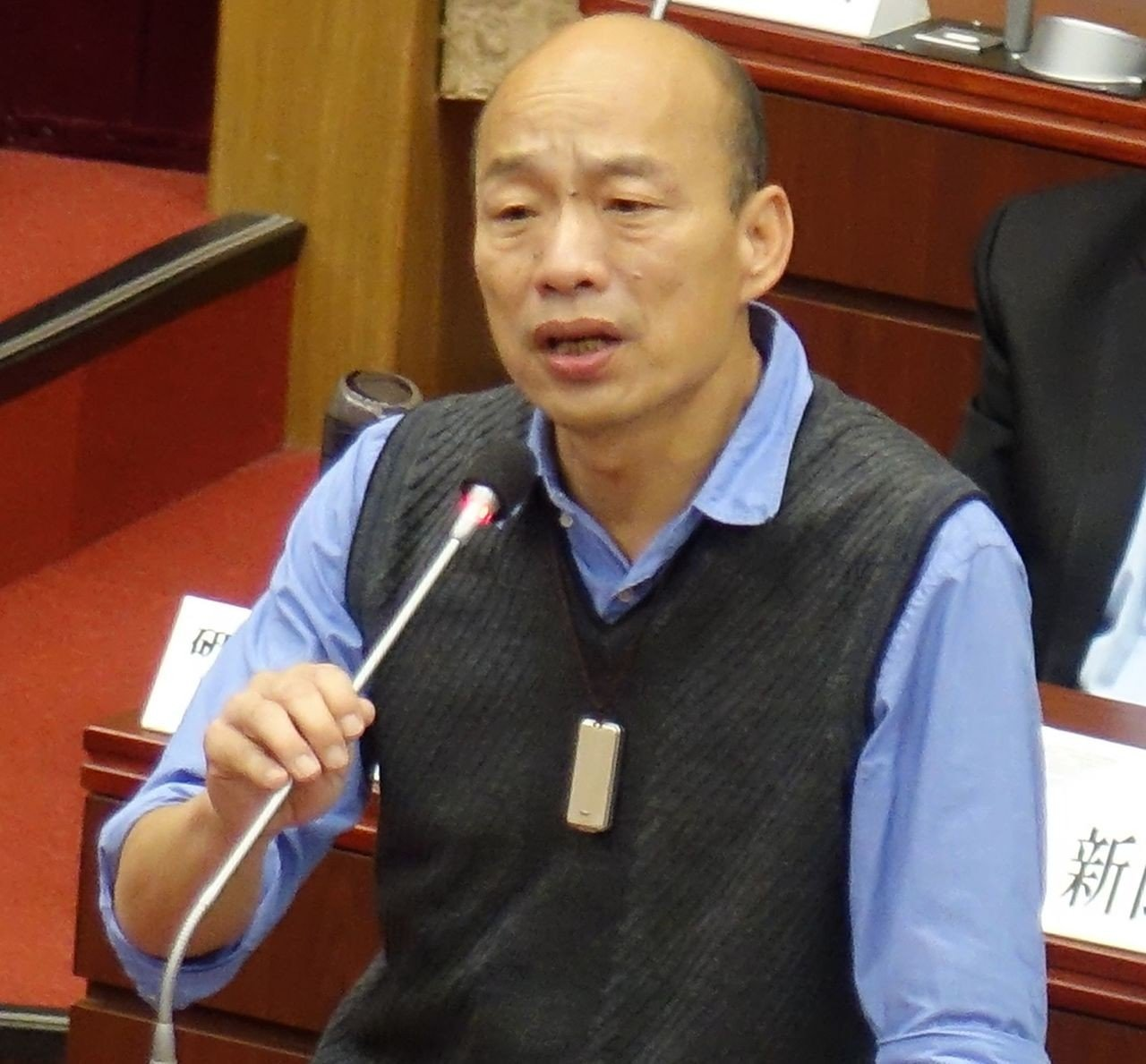 議員質詢要林右昌學韓國瑜拚經濟,林右昌反酸:我不會吹噓。圖/報系資料照
