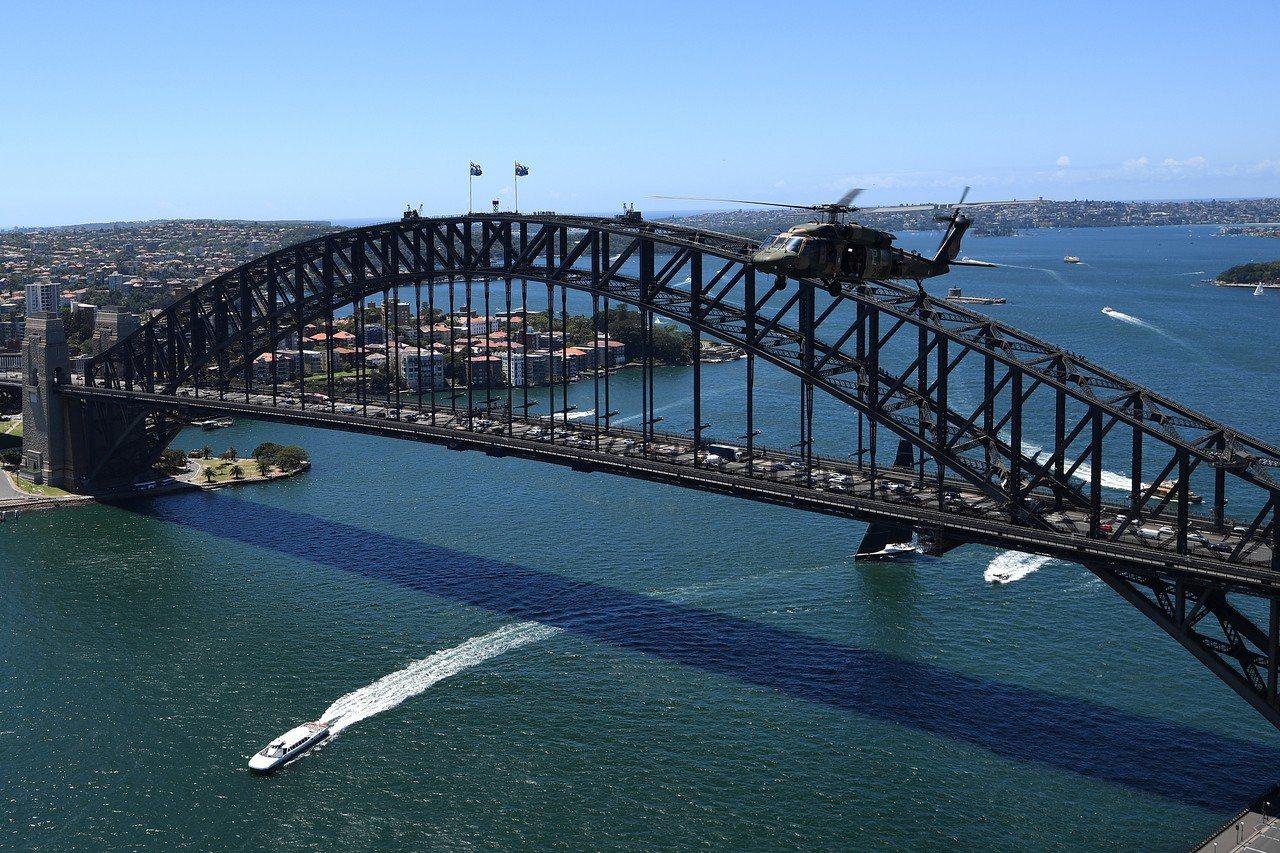 中國在澳洲的投資去年大減,圖為雪梨大橋。歐新社