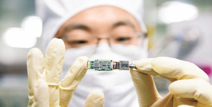 大陸財政部今天發布積體電路設計和軟體產業企業所得稅優惠政策公告。新華社資料照片