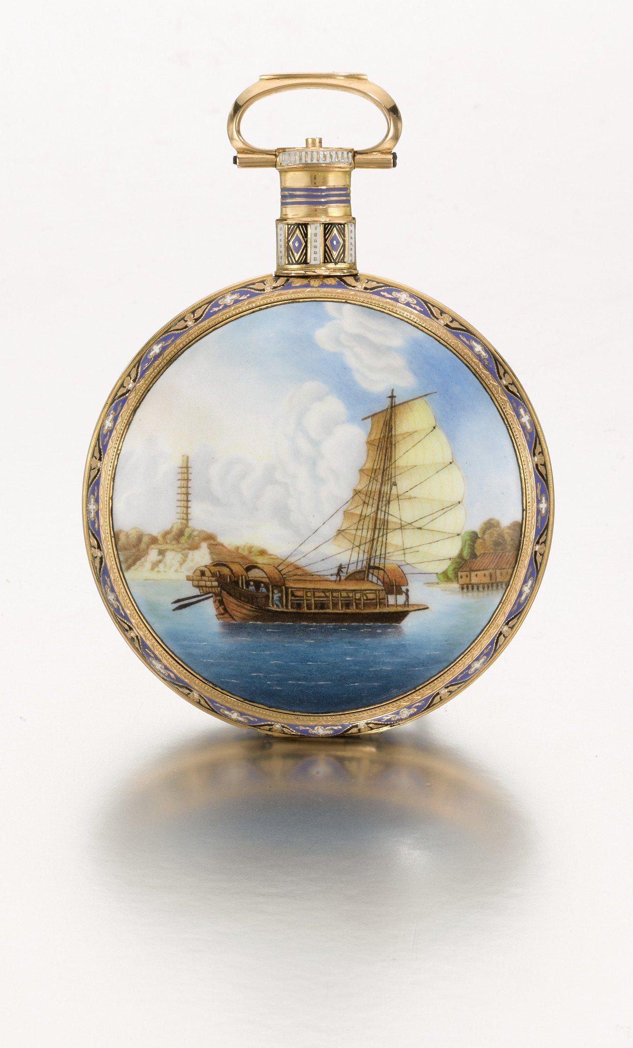 2020年10月於香港登場的「匠心獨運 — 外銷遠東西洋時計」領拍之作為依伯利(...