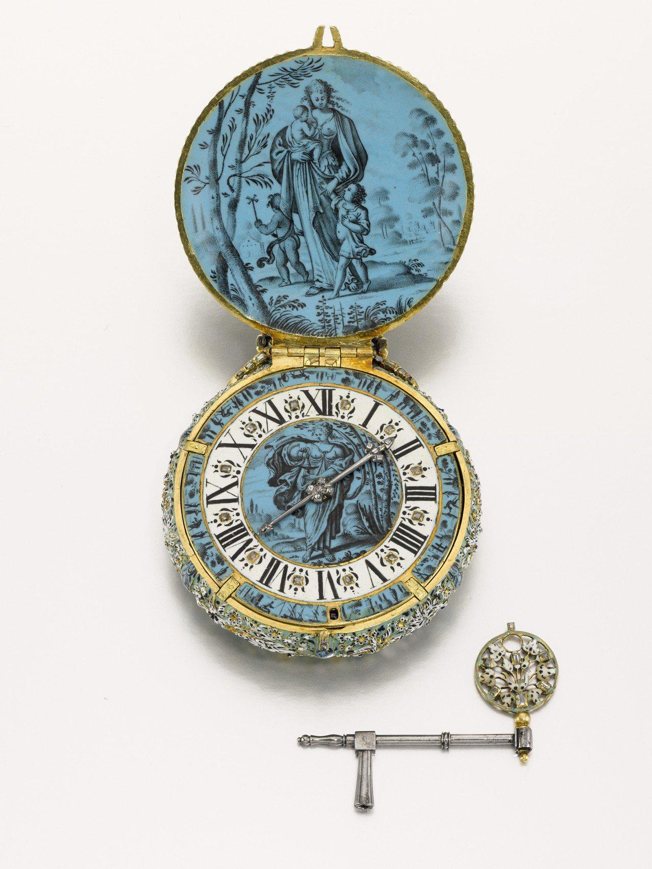 2019年7月3日於倫敦舉辦的「稀世瑰寶」專拍,領拍之作為約1650年時巴黎製表...