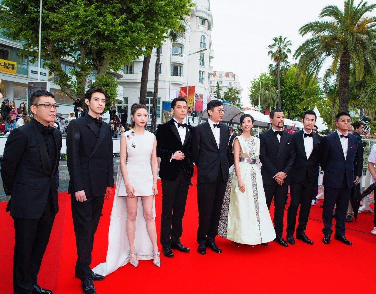 電影《南方車站的聚會》是入圍第72屆坎城影展主競賽項目的唯一華語片,全體演員現身...