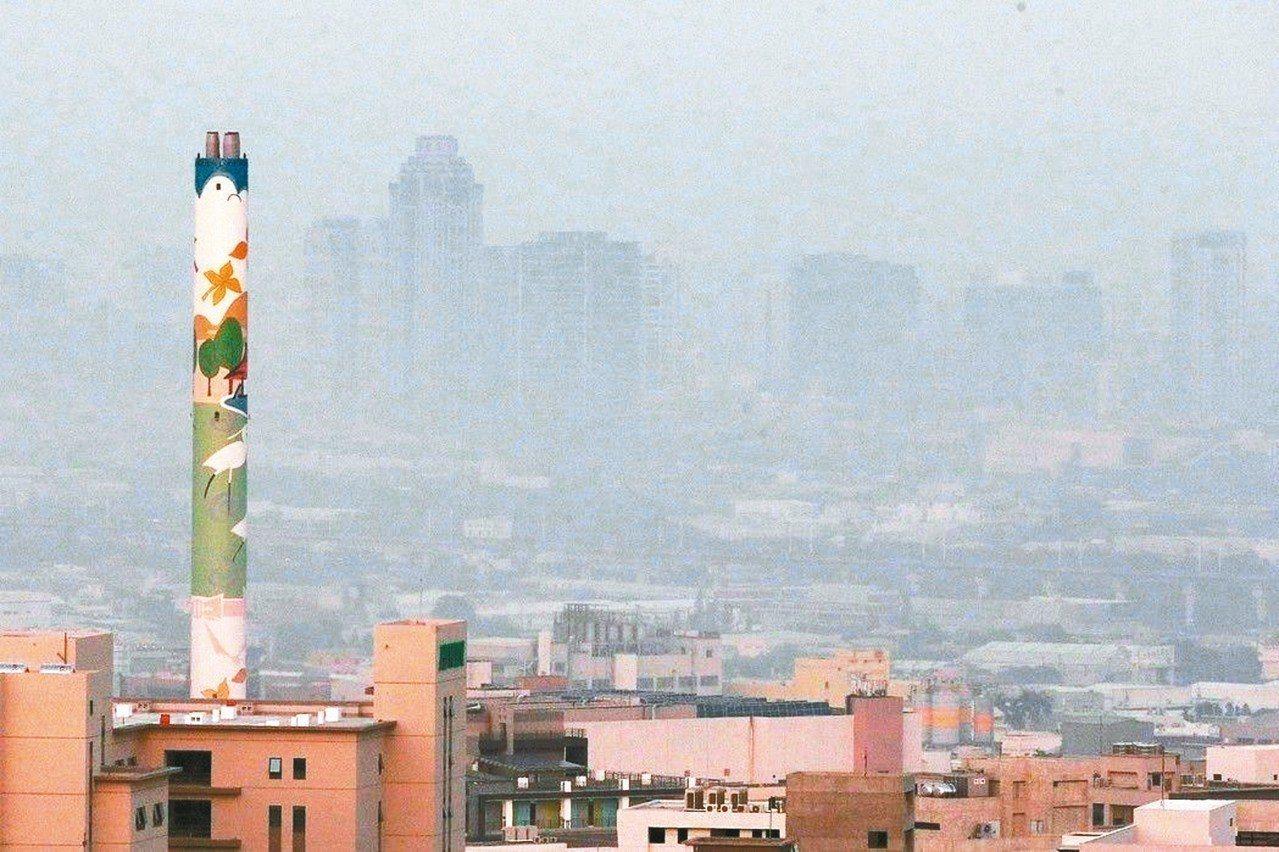 環保署今天公告73項有害空氣汙染物名單及5項空汙排放限值。圖/本報資料照片