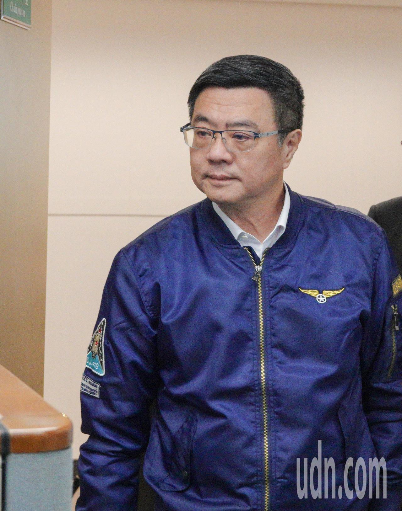 民進黨黨內總統初選合作瀕臨破局,民進黨主席卓榮泰針對媒體回應。記者陳柏亨/攝影