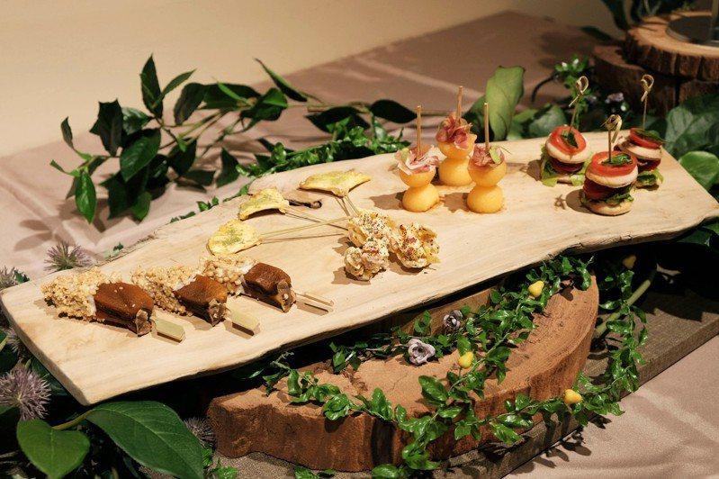 The One南園特別為愛樂人士打造多款精緻的餐點。圖/The One提供