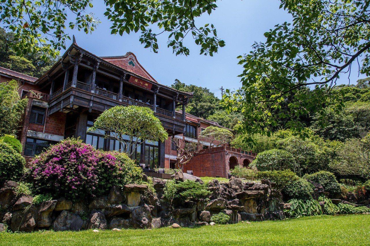The One南園擁有雅緻的庭院造景與人文環境。圖/The One提供