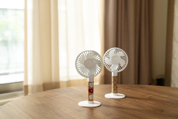 SOU‧SOU X PROBOX獨家聯名手持涼風扇,每個899元。圖/誠品提供