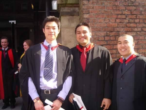 「trivago先生」李沛勳是英國高材生,在英國求學七年。圖/李沛勳提供