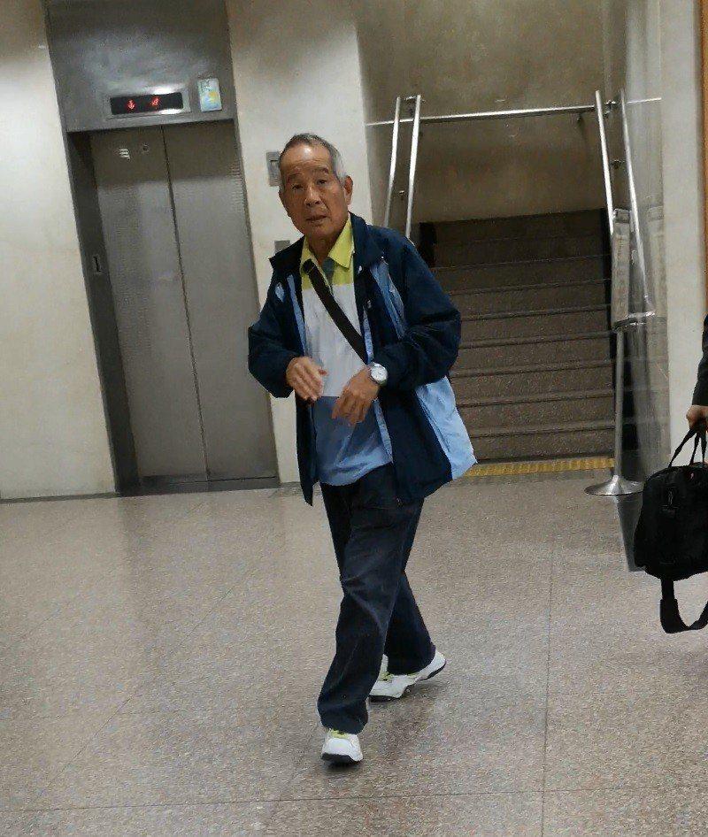 謝燈灴(66歲)是國巨老臣,有財務專長,以往是陳泰銘倚重的重要幹部。記者張宏業/...