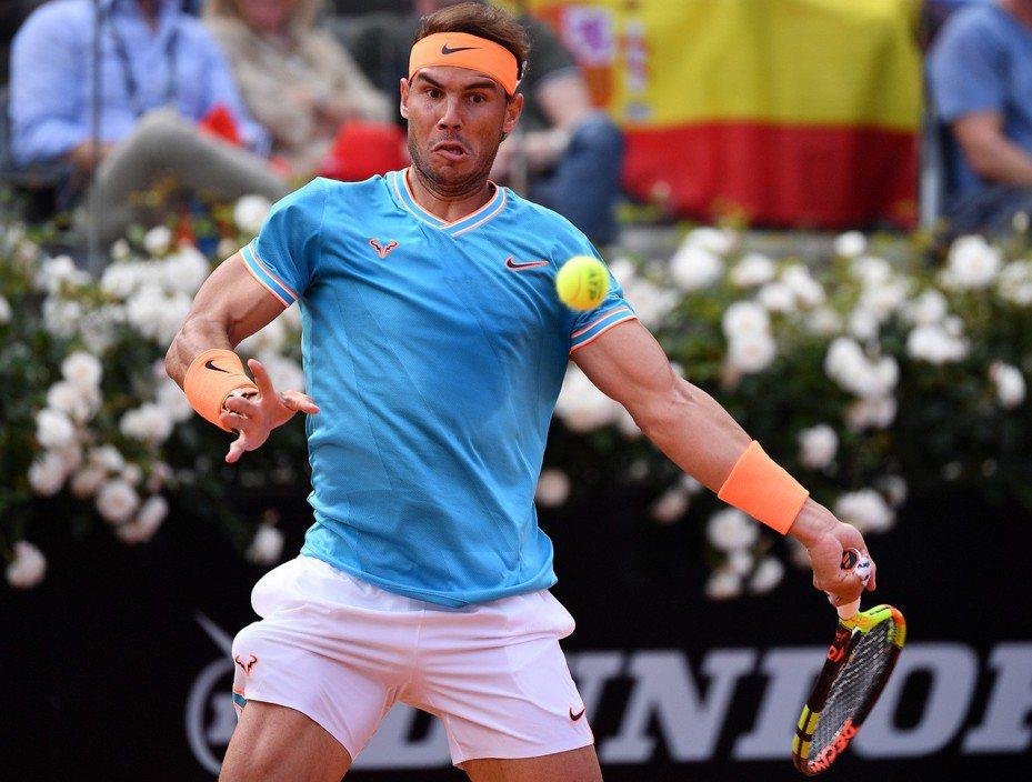 納達爾看好奪下第12座法網冠軍。 新華社