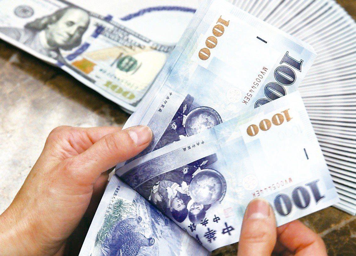 美中貿易戰打不停,新台幣兌美元匯率也貶不停。 圖/聯合報系資料照片