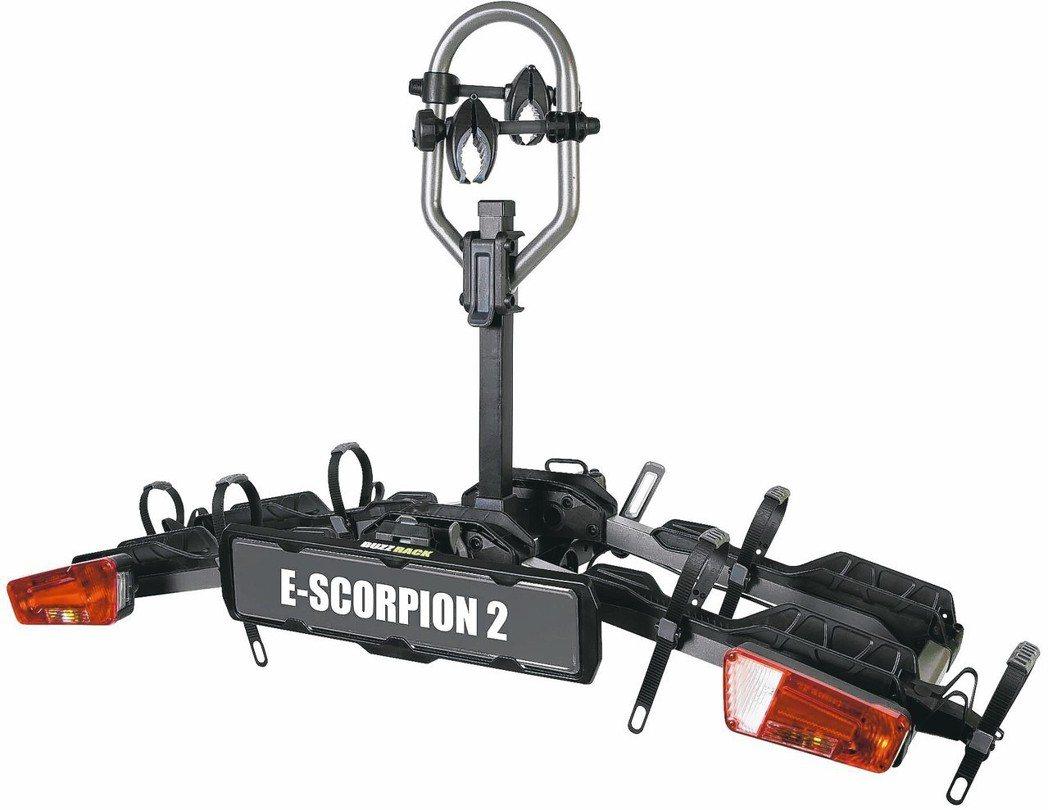 高鐵工業電動自行車攜車架。 高鐵/提供