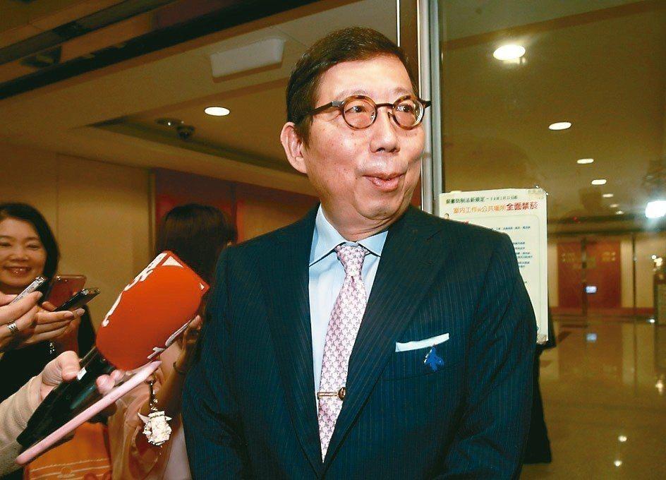 富邦人壽董事長蔡明興 記者黃義書/攝影