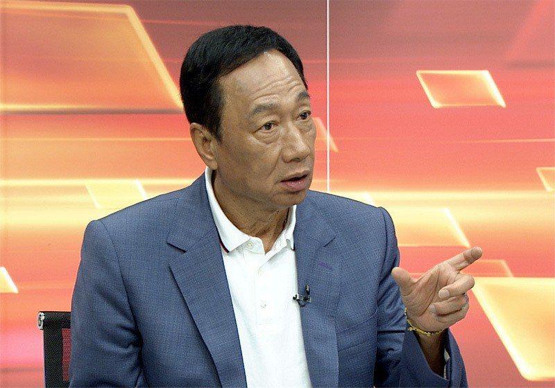 鴻海董事長郭台銘。記者高彬原/攝影