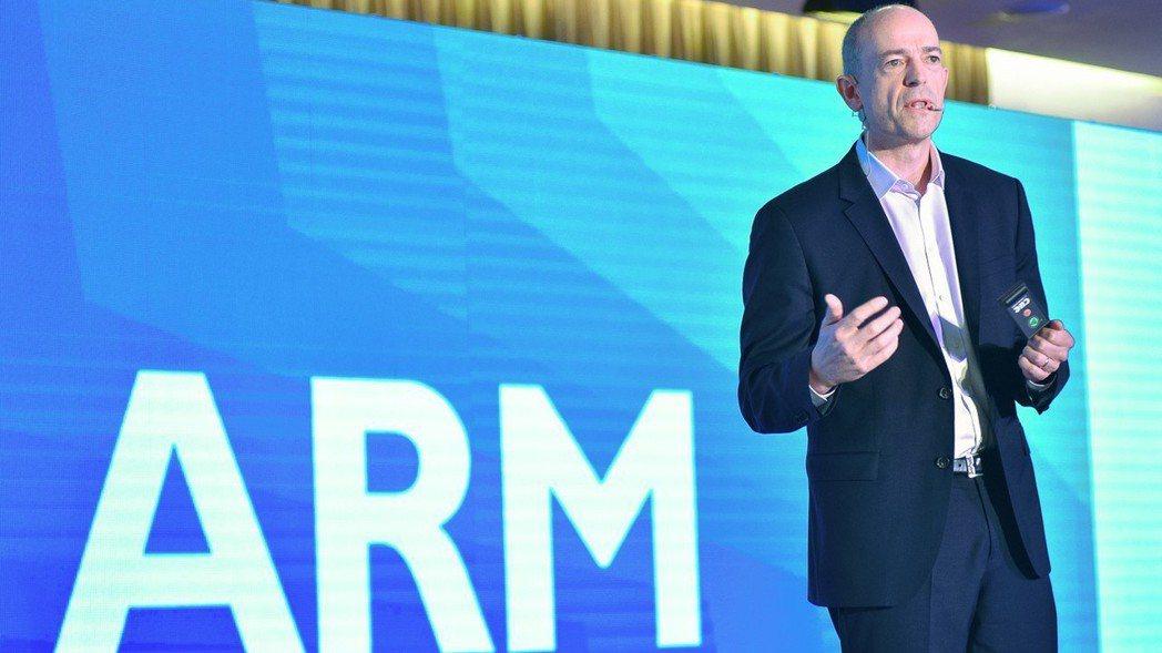 ARM執行長Simon Segar 圖/ARM提供
