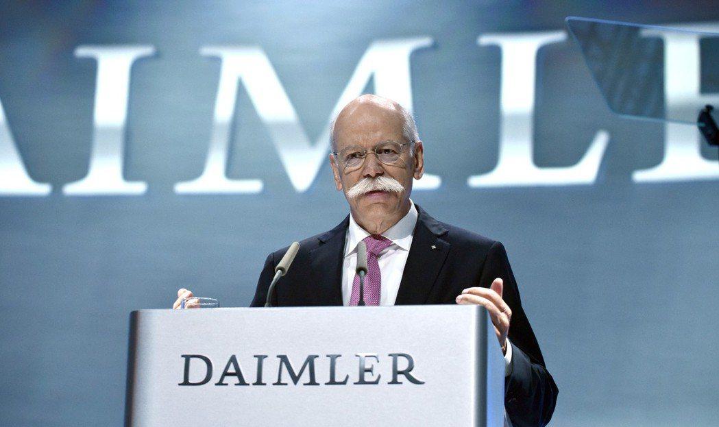 Daimler戴姆勒集團主席,同時也是Mercedes-Benz總裁的Diete...