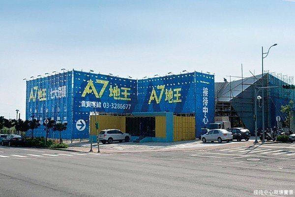 竹城建設的「A7地王─竹城甲子園」,擁有4352坪超大基地。 圖/海悅A7 提供