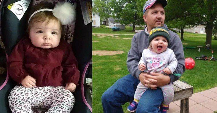 (左)莉克第一次生病並被送往醫院,但當她到達時正在努力呼吸。翻攝自網路