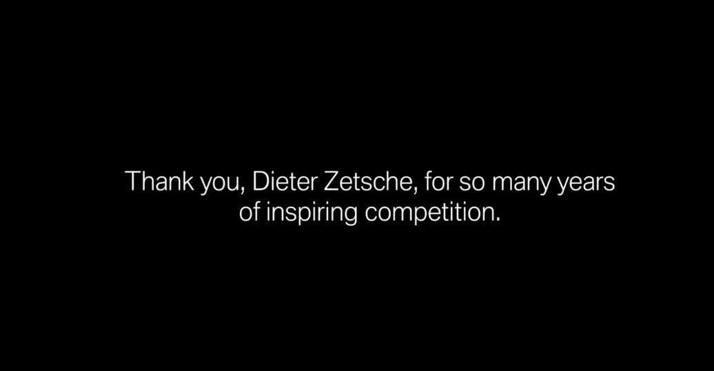 但BMW最後還是不忘真正感謝Dieter Zetsche這幾年帶來的兢爭關係。 ...