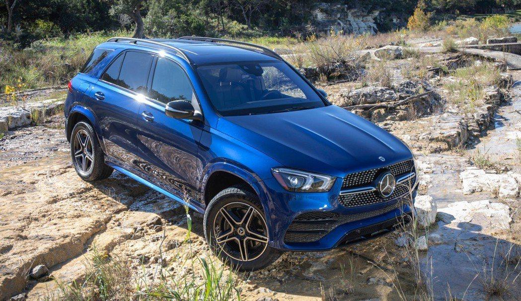 全新Mercedes-Benz GLE 580將在年底前率先於北美販售。 摘自M...