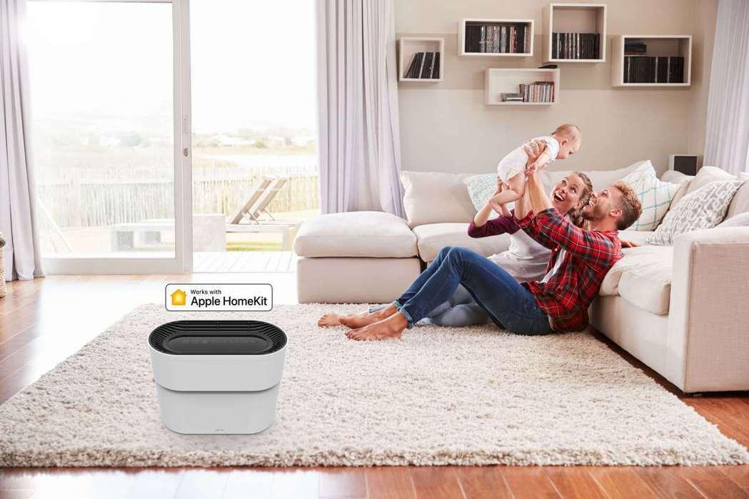 空氣品質倍受重視,許多家庭藉由空氣清淨機守護居家空氣品質。 Opro9 /提供