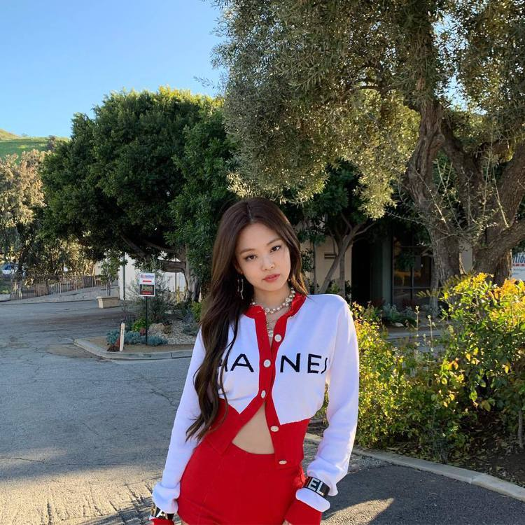 Jennie。圖/擷自instagram