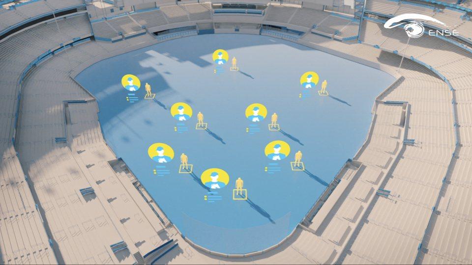 光禾感知所提出的智慧球場解決方案,是集電腦視覺、空間感知、訊號處理、定位導航、擴...