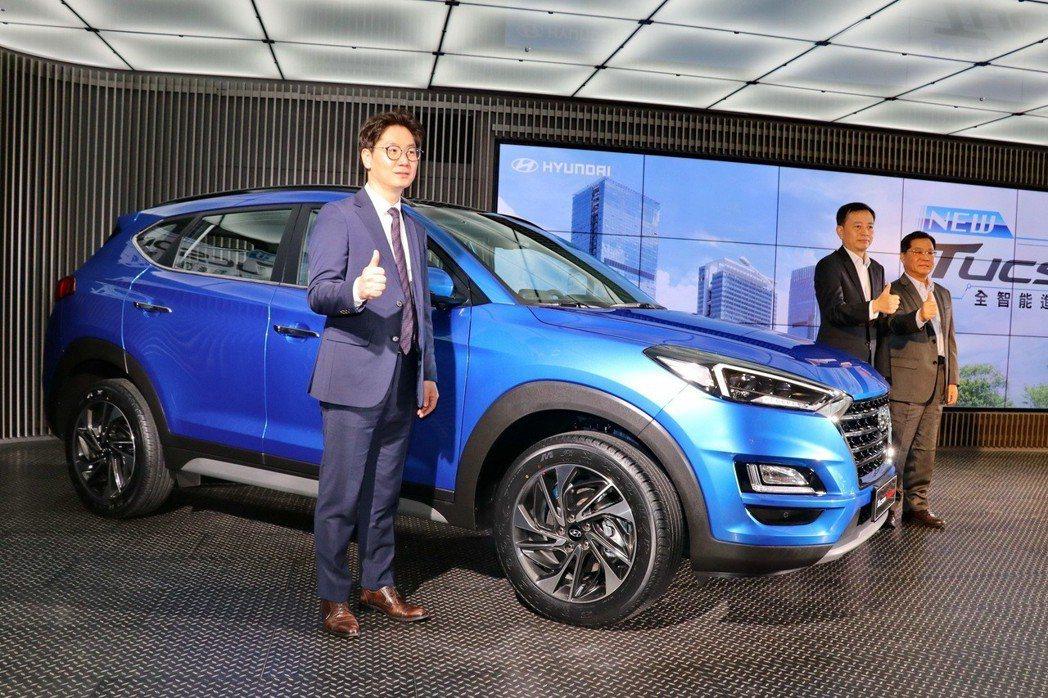 Hyundai Tucson小改款,售價89.9萬起。 記者陳威任/攝影