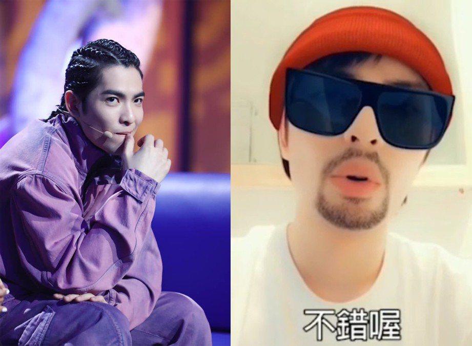蕭敬騰模仿周董。圖/擷自臉書