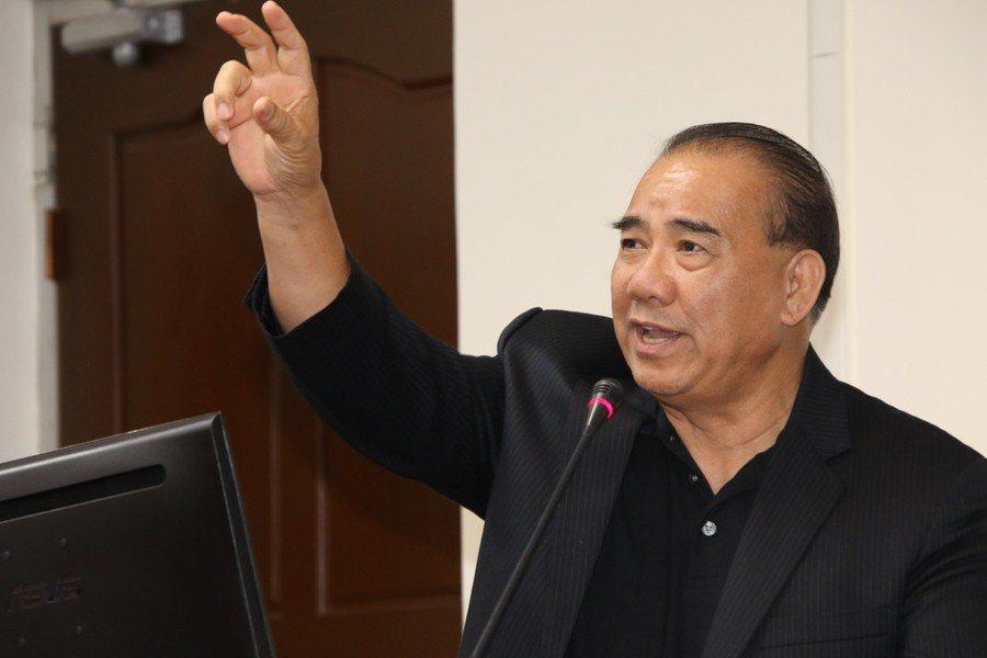 國民黨立委廖國棟23日呼籲經濟部,不要將延宕20年的雙子星案一拖再拖。(phot...