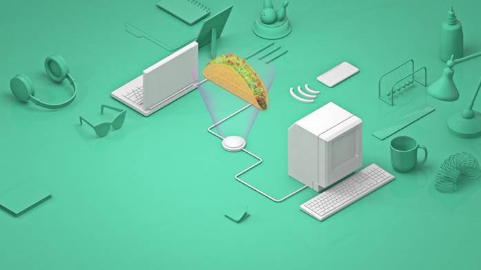 圖五、Taco Bell利用對話機器人TacoBot引流。 (圖片來源:Taco...