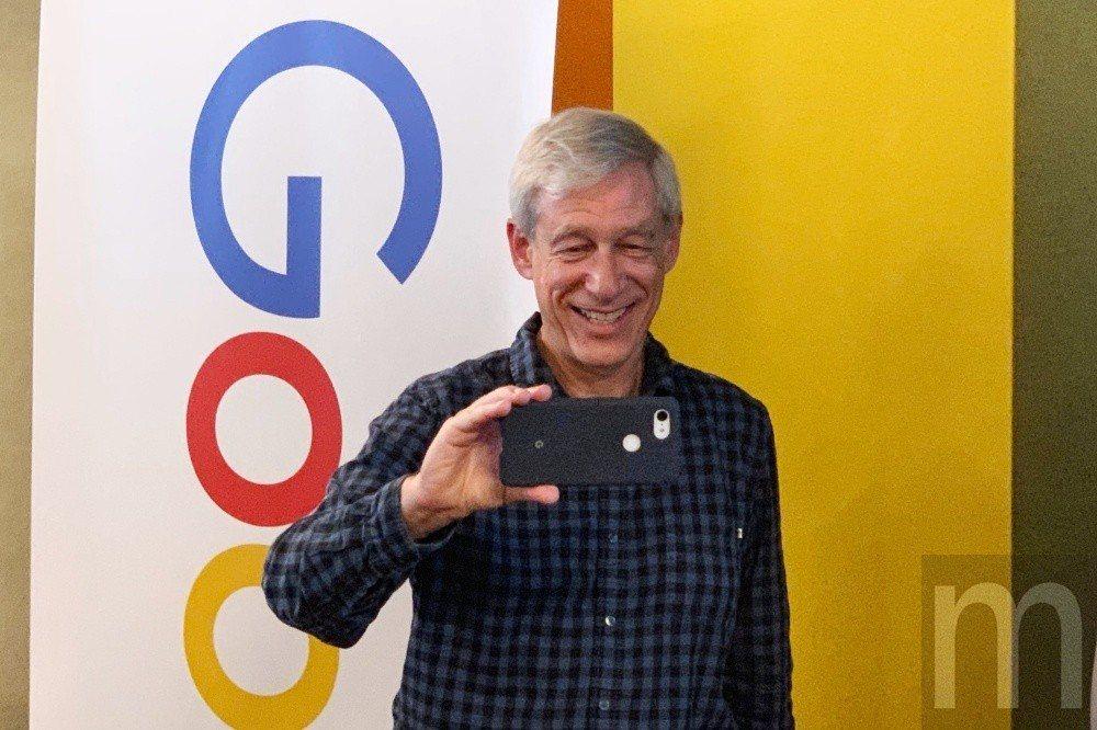 帶領Google Camera功能研發的Google傑出工程師Marc Lavo...