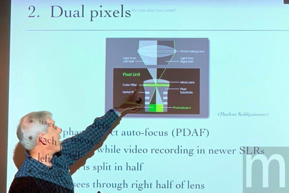 雙像素對焦技術不僅可用於提昇拍攝快門速度,同時也能應用在景深判斷等拍攝需求
