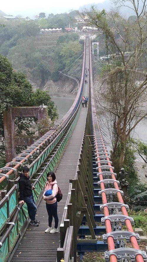 桃園復興新溪口吊橋 休園整修到6月中旬