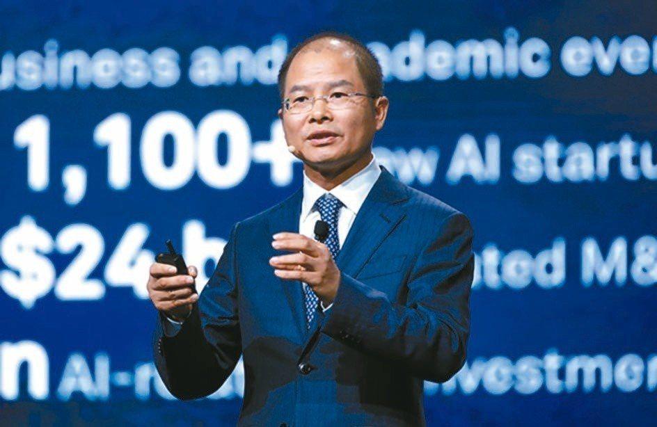 華為副董事長徐直軍在美被控竊取商業機密。 報系資料照