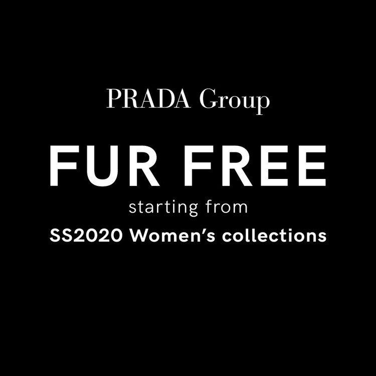 Prada宣布加入拒用皮草行列,目前所有庫存銷售完後,從2020春夏系列開始,將...