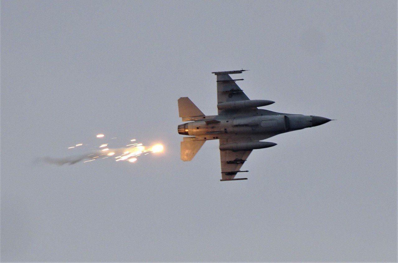 增購F-16戰機,是軍方長期向美方爭取的目標。 圖/聯合報系資料照片