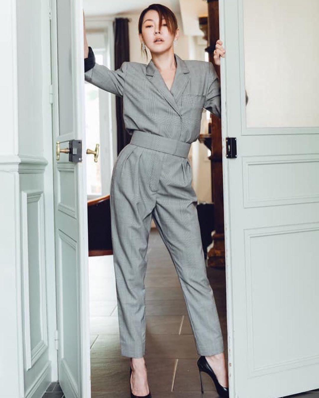 天后小S徐熙娣在繼時尚周之後,這次也前進坎城影展,參加了2019中歐女性影展坎城...