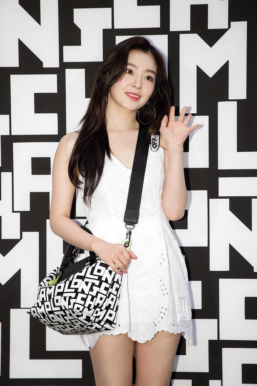 韓團Red Velvet成員Irene日前出席韓國LGP系列上市派對。圖/LON...