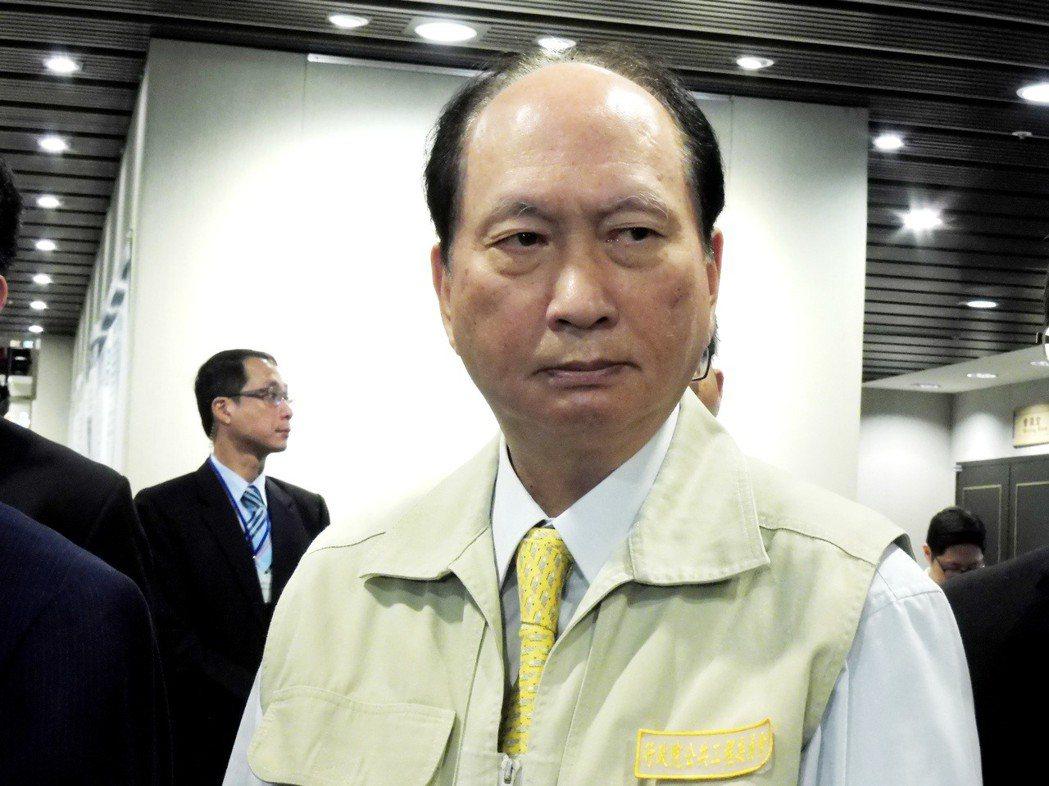 工程會主委、政委吳澤成。本報資料照片