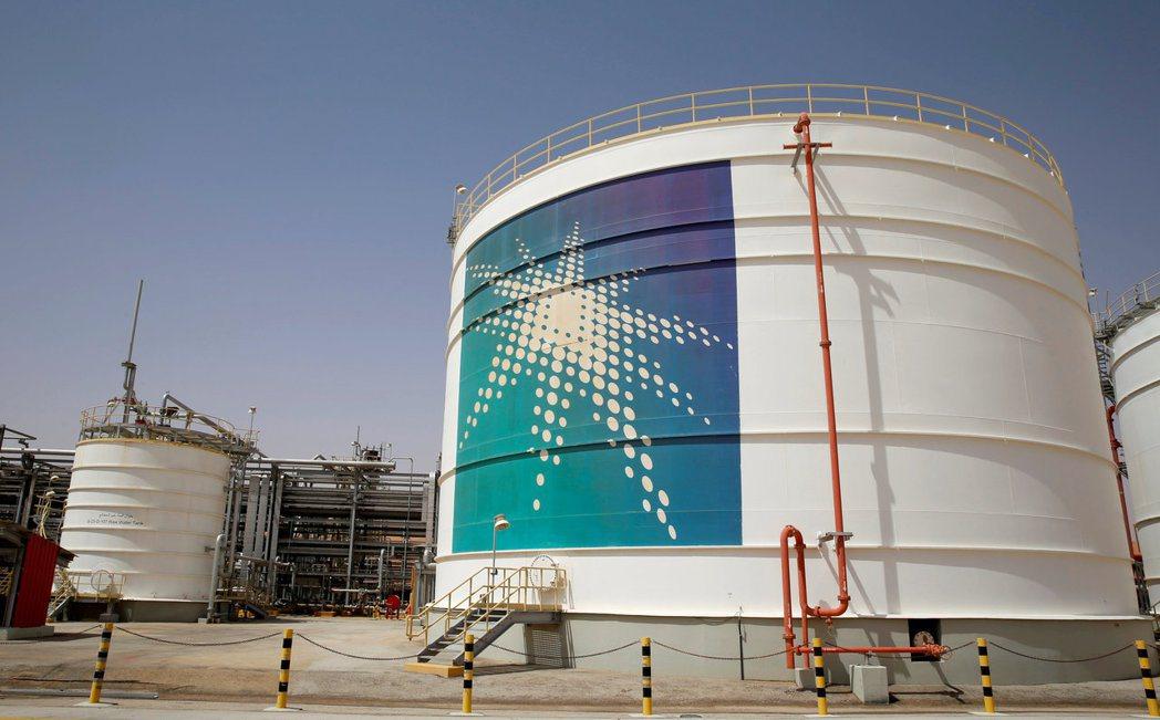 沙烏地阿拉伯國營石油公司(Aramco)向美國採購液化天然氣,合約長達20年。圖...