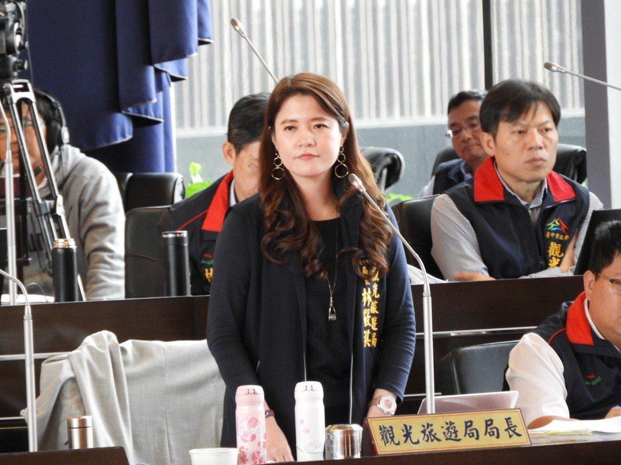 對於議員陳清龍說「培訓費5個月花360萬元,是高級實習生」,林筱淇強烈反擊說,完...