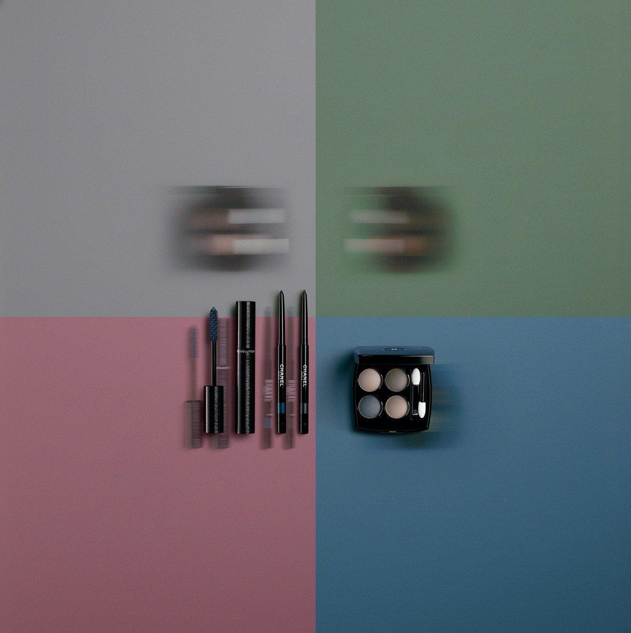 由香奈兒全球彩妝創意與色彩設計總監露西婭·皮卡,為妳打造自信眼妝。圖/香奈兒提供