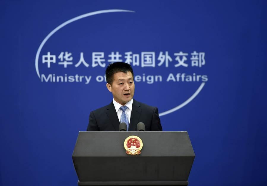 大陸外交部發言人陸慷。新華社資料照片