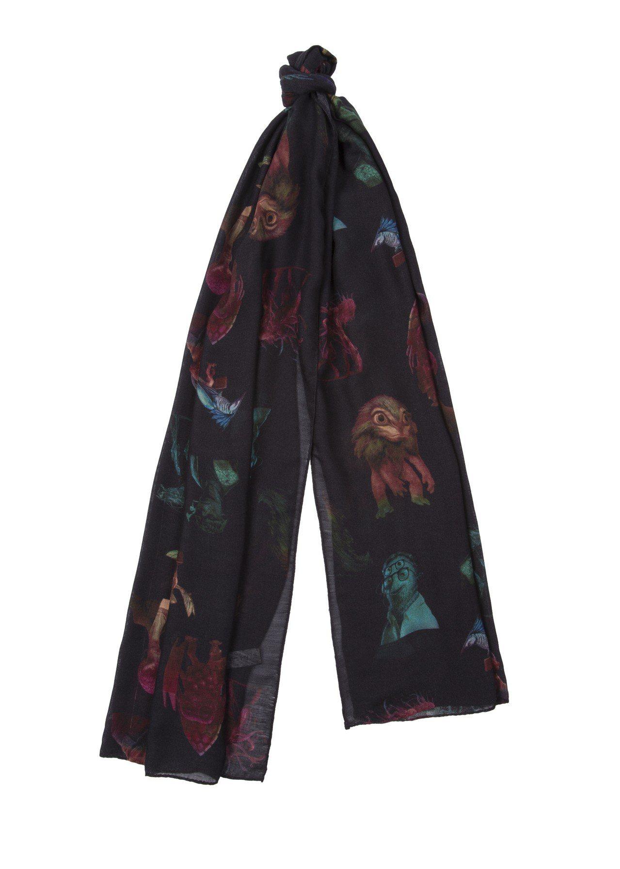 《MIB星際戰警™:跨國行動》限量膠囊系列外星人薄圍巾,6,300元。圖/Pau...